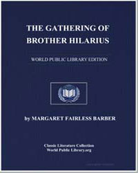 The Gathering of Brother Hilarious by Barber, Margaret Fairless