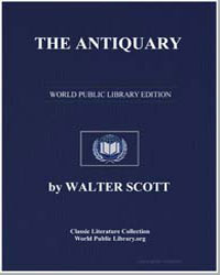 The Antiquary by Scott, Walter, Sir