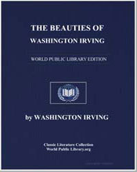 The Beauties of Washington Irving by Irving, Washington