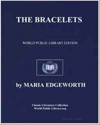The Bracelets by Edgeworth, Maria