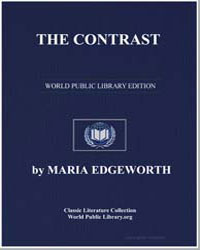 The Contrast by Edgeworth, Maria