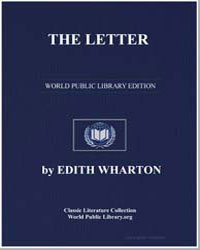 The Letter by Wharton, Edith