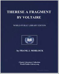 Therese a Fragment by Voltaire by Morlock, Frank J.