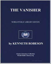The Vanisher by Robeson, Kenneth