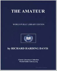 The Amateur by Davis, Richard Harding