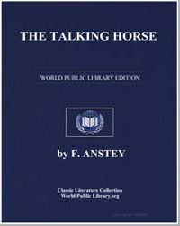 The Talking Horse by Anstey, F.