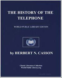 The History of the Telephone by Casson, Herbert Newton