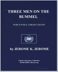 Three Men on the Bummel by Klapka, Jerome