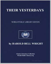 Their Yesterdays by Wright, Harold Bell