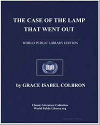 The Case of the Lamp That Went Out by Colbron, Grace Isabel