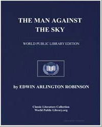 The Man against the Sky : A Book of Poem... by Robinson, Edwin Arlington