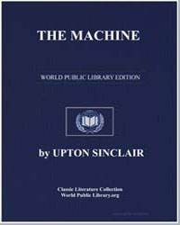The Machine by Sinclair, Upton