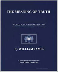 The Meaning of Truth by James, William