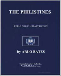 The Philistines by Bates, Arlo