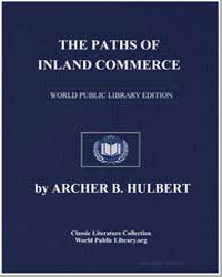 The Paths of Inland Commerce by Hulbert, Archer Butler