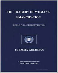 The Tragedy of Woman's Emancipation by Goldman, Emma