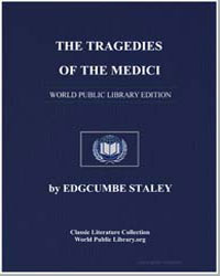 The Tragedies of the Medici by Staley, Edgcumbe