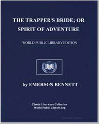 The Trapper's Bride; Or, Spirit of Adven... by Bennett, Emerson