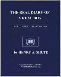 The Real Diary of a Real Boy by Shute, Henry Augustus