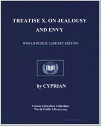 Treatise X. On Jealousy and Envy by