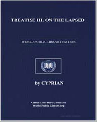 Treatise III on the Lapsed by