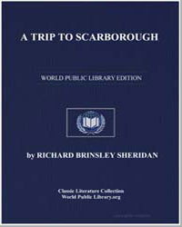A Trip to Scarborough by Sheridan, Richard Brinsley