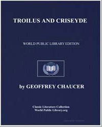 Troilus and Criseyde by Chaucer, Geoffrey