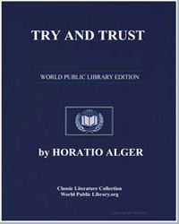 Try and Trust by Alger, Horatio