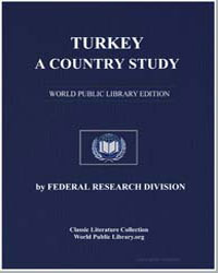 Turkey : A Country Study by Mortimer, Louis R.