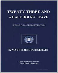 Twentythree and a Half Hours' Leave by Rinehart, Mary Roberts