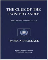The Clue of the Twisted Candle by Wallace, Edgar