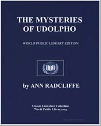 The Mysteries of Udolpho : A Romance; In... by Radcliffe, Ann