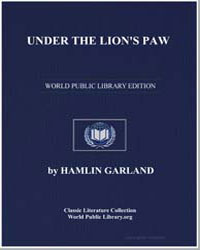 Under the Lion's Paw by Garland, Hamlin