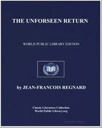The Unforseen Return by Regnard, Jean François
