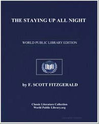 The Staying up All Night by Fitzgerald, Francis Scott