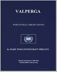 Valperga by Shelley, Mary Wollstonecraft