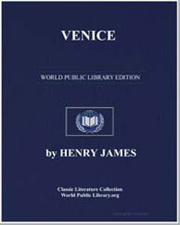 Venice by James, Henry