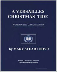 A Versailles Christmastide by Boyd, Mary Stuart