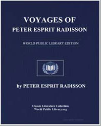 Voyages of Peter Esprit Radisson by Radisson, Peter Esprit