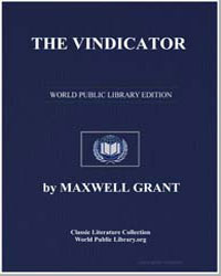 The Vindicator by Grant, Maxwell