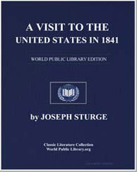 A Visit to the United States in 1841 by Sturge, Joseph