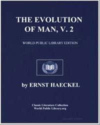 The Evolution of Man, V.2 by Haeckel, Ernst