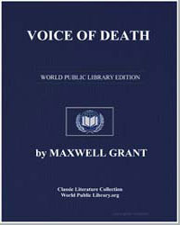 Voice of Death by Grant, Maxwell