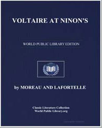 Voltaire at Ninon's by Morlock, Frank J.