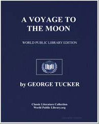 A Voyage to the Moon by Tucker, George
