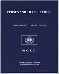 Verses and Translations by Hutchinson, Joshua