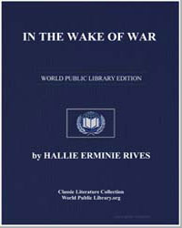 In the Wake of War by Rives, Hallie Erminie