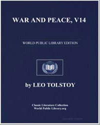 War and Peace, V14 by Tolstoy, Leo Nikoleyevich