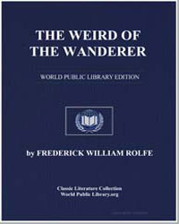 The Weird of the Wanderer by Rolfe, Frederick William