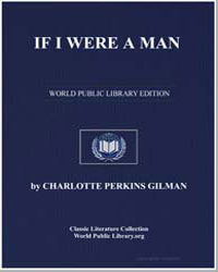 If I Were a Man by Gilman, Charlotte Perkins